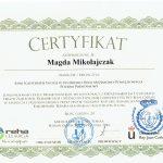 certyfikat fizjoterapeuty sosnowiec